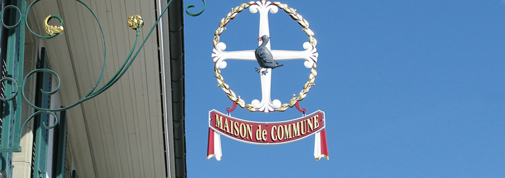 Insigne de la Maison de Commune
